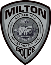 Milton Massachusetts Police Patch