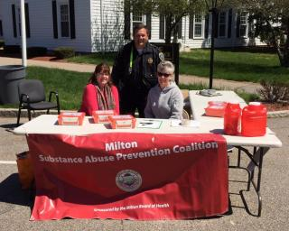 Drug take back at the Milton Police Station