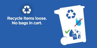 Recycle Right - no bags in your cart.