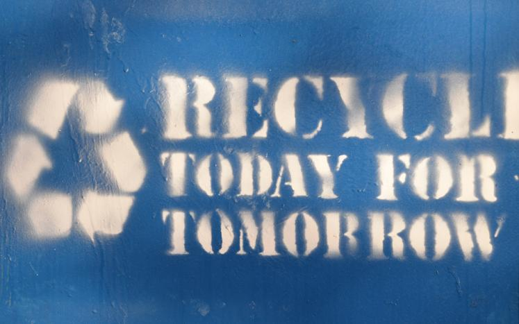 Image: Recycle today for tomorrow