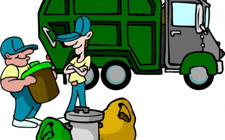 REGULAR TRASH AND RECYCLING COLLECTION SCHEDULE THIS WEEK  - NO DELAYS DUE TO THE HOLIDAY.