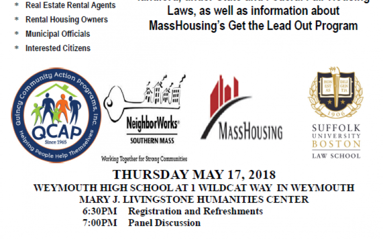 South Shore Fair Housing Committee Event Flyer